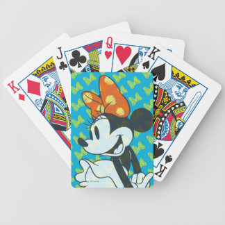 Trendy Minnie | Shy Pose Bicycle Playing Cards