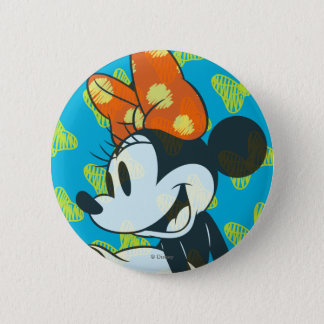 Trendy Minnie | Shy Pose Pinback Button