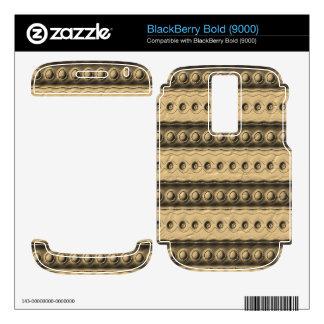Trendy modern art BlackBerry skins