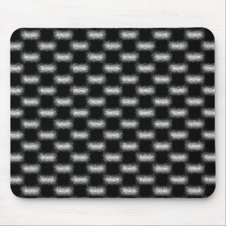 Trendy Modern Cool Unique Abstract Patterns Mouse Pad
