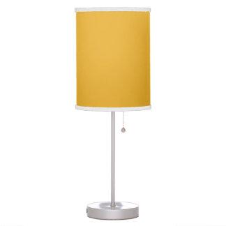 Trendy, modern, delightful sunny yellow desk lamps