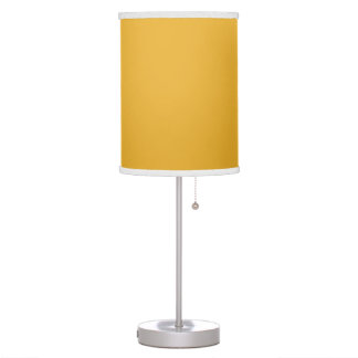 Trendy, modern, delightful sunny yellow lamp