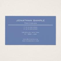 Trendy Modern Design Elegant Minimalist Plain Luxe Business Card