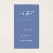 Trendy Modern Design Elegant Simple Plain Luxury Business Card