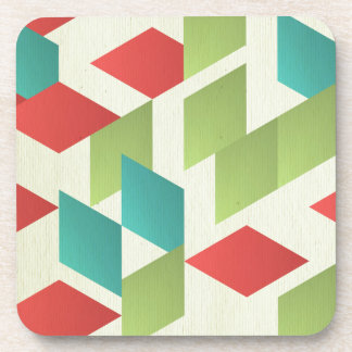trendy,modern,graphic,retro,pattern,squares,templa drink coasters