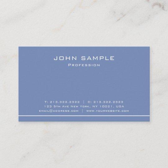 Trendy modern plain professional elegant matte business card trendy modern plain professional elegant matte business card colourmoves