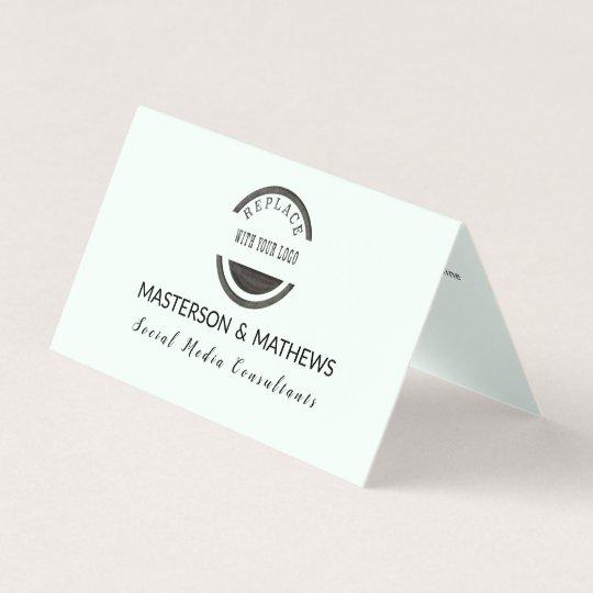 Trendy modern social media consultant minted business card zazzle trendy modern social media consultant minted business card colourmoves