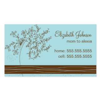 Trendy Mommy Business Card