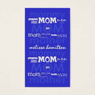 Trendy Mommy Calling Cards