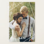 "Trendy Monogram Photo Planner<br><div class=""desc"">Personalize with your photo and custom message.</div>"