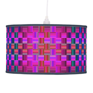Trendy Multicolored Mosaic Tile Pattern Ceiling Lamp
