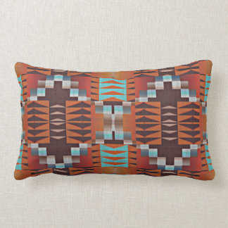 Trendy Native American Indian Tribal Pattern Lumbar Pillow