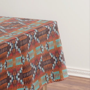Beau Trendy Native American Indian Tribal Pattern Tablecloth