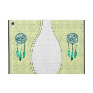 Trendy Native American Wolf Dreamcatcher Cover For iPad Mini
