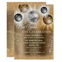 Trendy New Years Eve Invitation