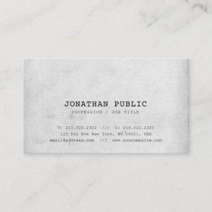 Elite business cards zazzle trendy nostalgic look elite design plain luxury business card colourmoves