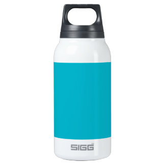 Trendy Ocean Blue Solid Color 10 Oz Insulated SIGG Thermos Water Bottle