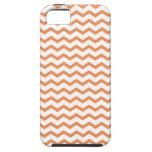 Trendy Orange Chevron Pattern.ai iPhone 5 Covers