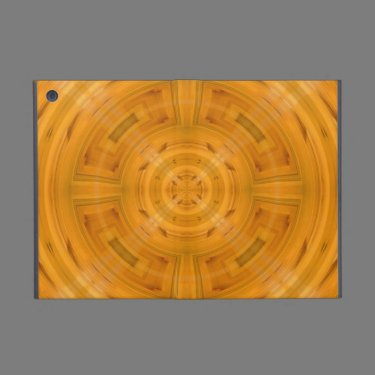 Trendy Orange Circle Pattern Cases For iPad Mini