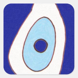 Trendy Oriental Vintage Patterns Square Sticker