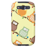 Trendy Owls Custom Android Phone Case Samsung Galaxy S3 Cover