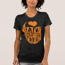 Trendy PAGA I Love Black Men With Beards T-Shirt