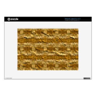 Trendy paper pattern skins for large netbooks