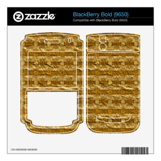 Trendy paper pattern decal for BlackBerry bold