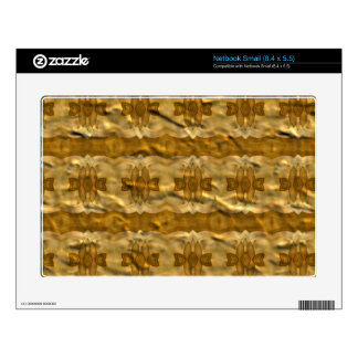 Trendy paper pattern skin for small netbook
