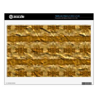Trendy paper pattern skins for medium netbooks