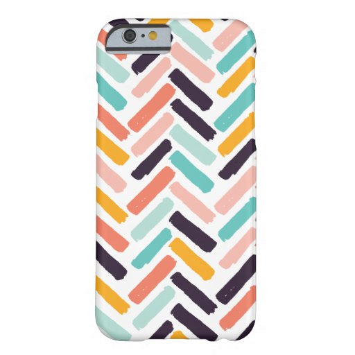 Trendy Pastel Chevron Iphone case