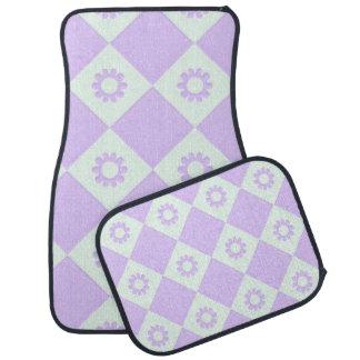 trendy pastel pattern 02c (I) Car Floor Mat