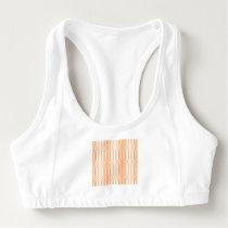 trendy pastel pattern 03a (I) Sports Bra