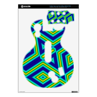 Trendy pattern with lines guitar hero skins