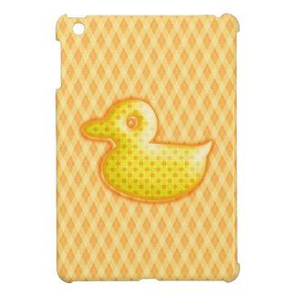 Trendy Patterned Rubber Ducky iPad Mini Case