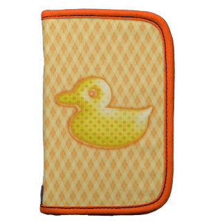 Trendy Patterned Rubber Ducky Planners