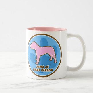 Trendy Perro de Presa Canario Two-Tone Coffee Mug