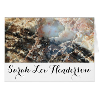 Trendy Personalized Crystal Card