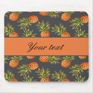 Trendy Personalized Pineapple Mouse Pad
