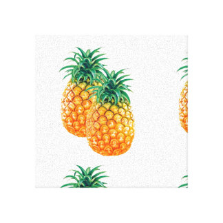 "trendy pineapple (12"" x 12""), 3.8 cm (1.5""),Single Canvas Print"