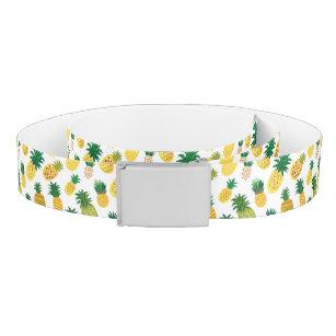 Trendy Pineapple Pattern Belt