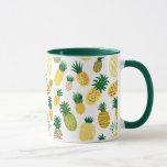 Trendy Pineapple Pattern Mug