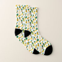 Trendy Pineapple Pattern Socks