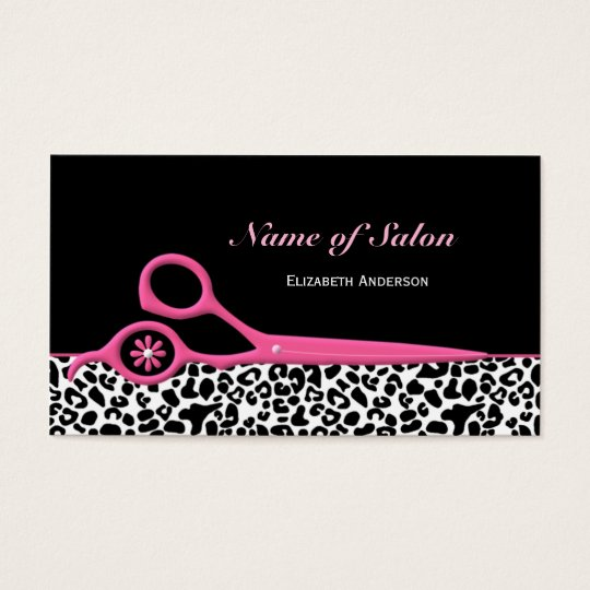 Pink leopard business cards best leopard 2017 leopard business cards 1800 card templates colourmoves Image collections