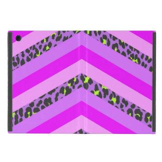 Trendy Pink Cheetah Chevron Animal Pattern Print Case For iPad Mini
