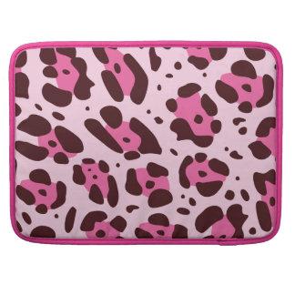 Trendy pink Leo Design MacBook Pro Sleeve