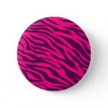 Trendy Pink Purple Zebra Stripes Wild Animal Print