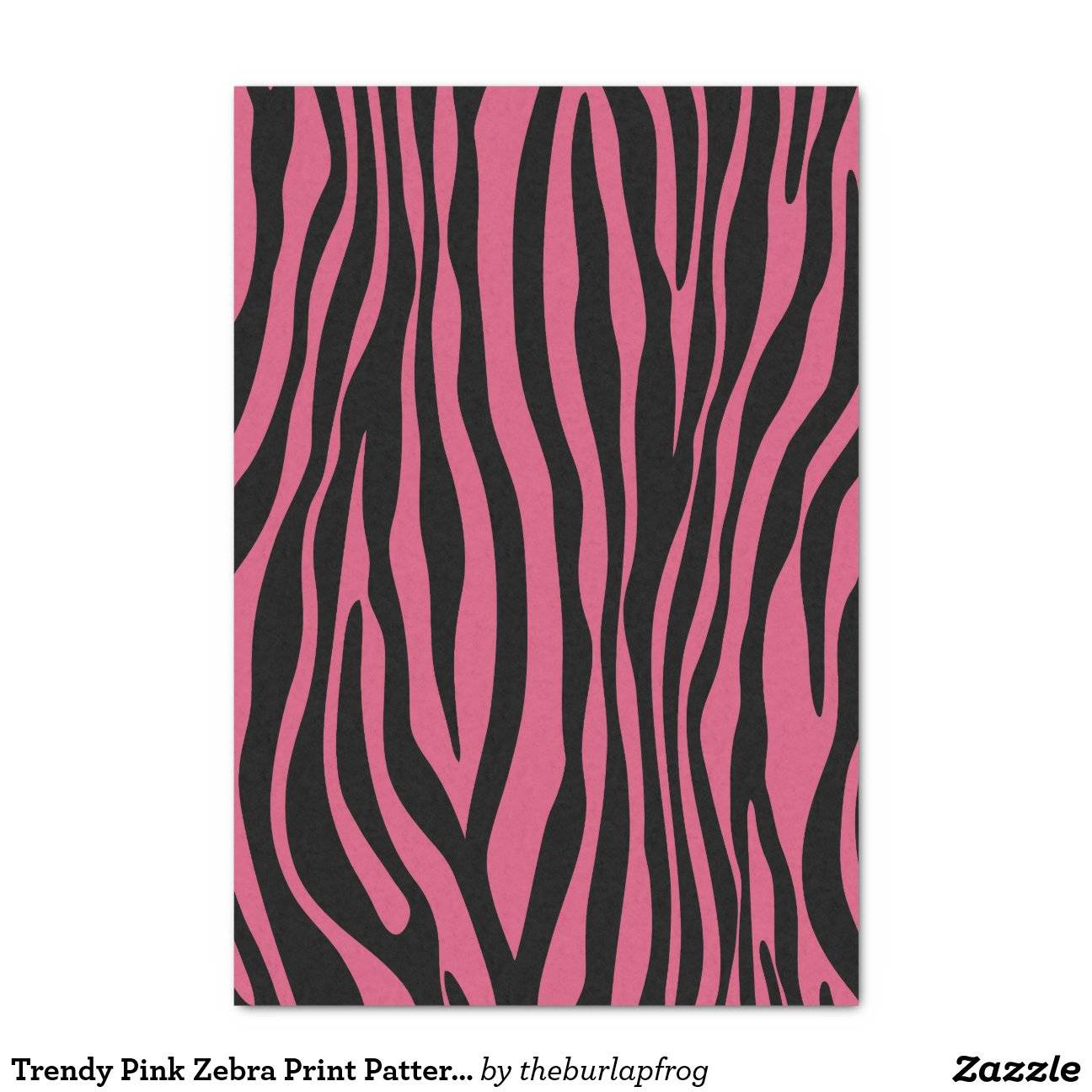 zebra print tissue paper Go wild with your gifts our zebra printed tissue paper features that classic black  and white striped pattern this tissue paper is the perfect accent for gift bags,.