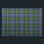 """Trendy Placemat   Blue Nova Scotia Tartan plaid<br><div class=""""desc"""">Style, Individualize &amp; Personalize almost anything that comes mind. Customize your whole world With A Wide Variety of Unique Zazzle Products to Choose from. Find Or Create those one-of-a-kind gifts you just cant find anywhere else. Merchandising in Unique Customizable Apparel &amp; Unique Home Decor and much more. Inspired by the...</div>"""