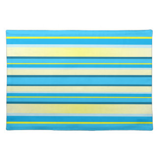 Yellow And Blue Placemats Zazzle
